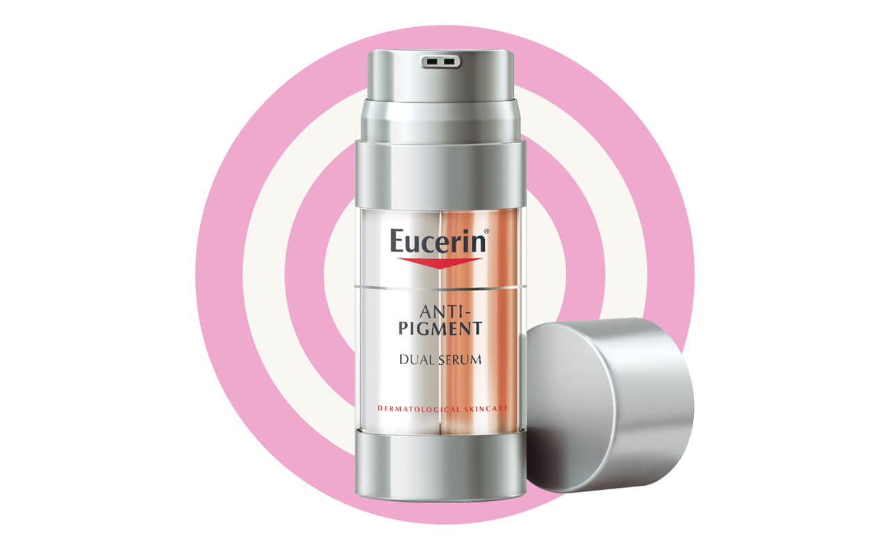 Diminish age spots – Eucerin Anti-Pigment Dual Serum,